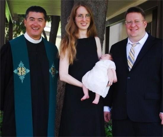 Baptism portrait b
